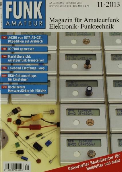 Funkamateur 11/2013 Zeitschrift