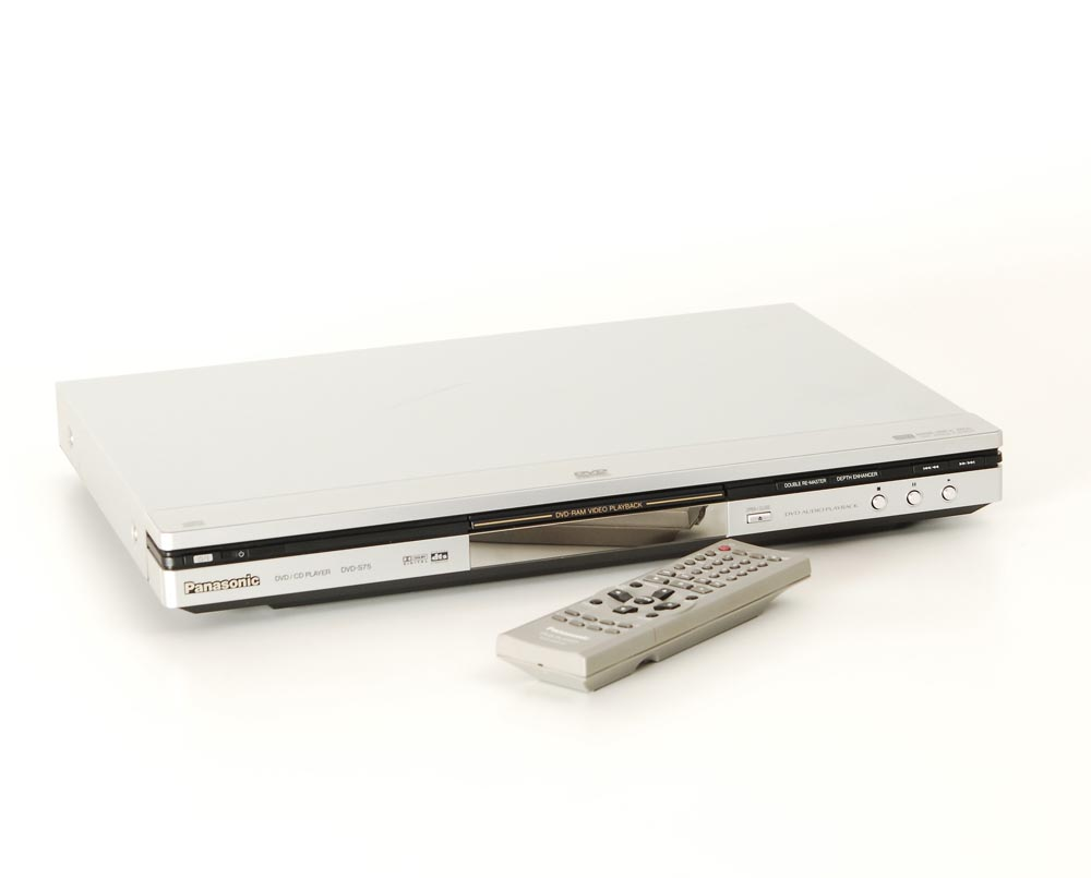 panasonic dvd s 75 dvd player dvd ger te ger te. Black Bedroom Furniture Sets. Home Design Ideas