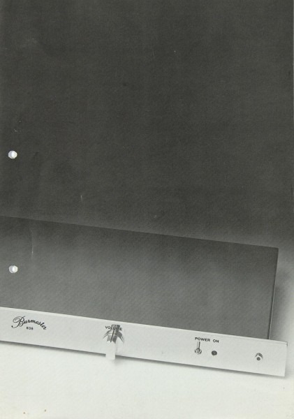 Burmester 838 Prospekt / Katalog