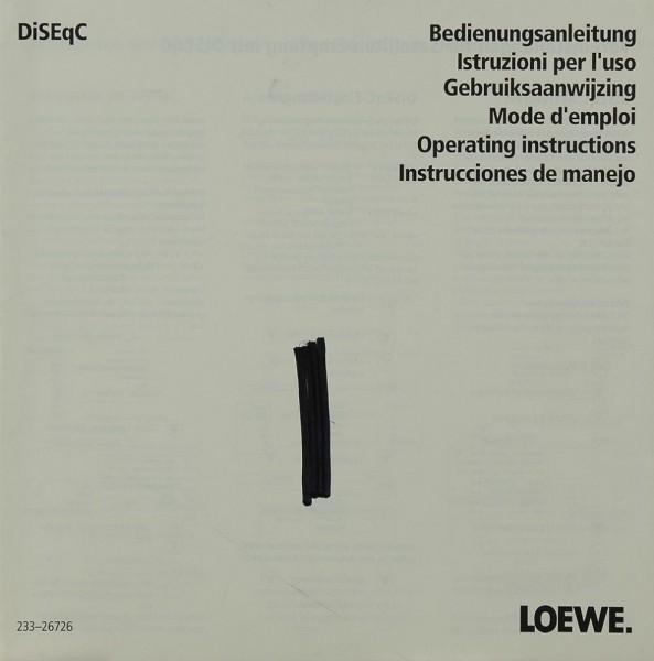 Loewe DiSEqC Bedienungsanleitung