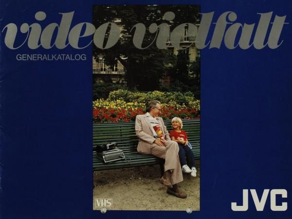 JVC Video-Vielfalt - Generalkatalog Prospekt / Katalog