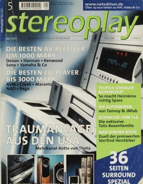 Stereoplay 5/2001 Zeitschrift