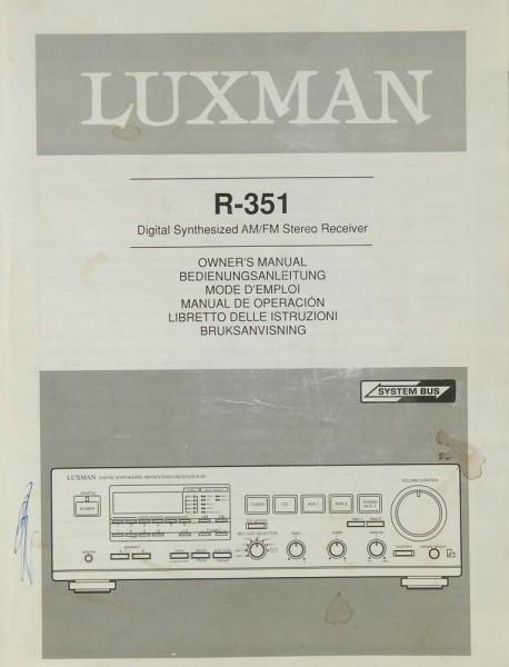 Luxman R-351 Bedienungsanleitung