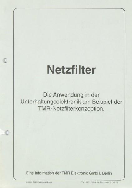 TMR NK 1 / NK 2 / FS 3 / FS 8 / FS 5 / STL 7 u.a. Prospekt / Katalog