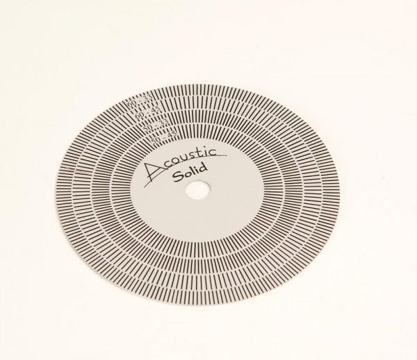 Acoustic Solid Stroboskopscheibe