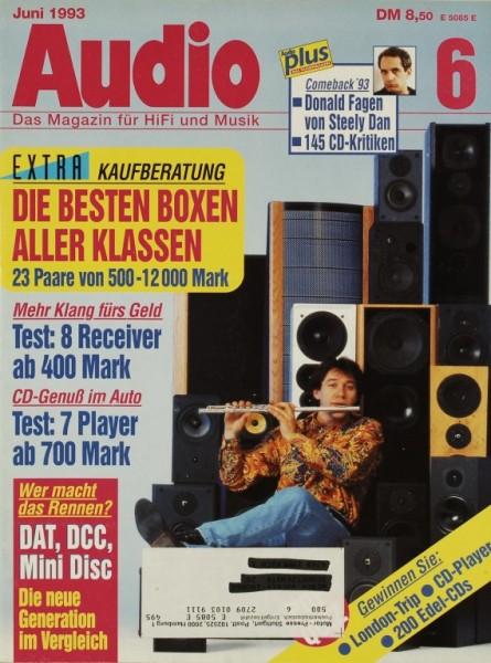Audio 6/1993 Zeitschrift