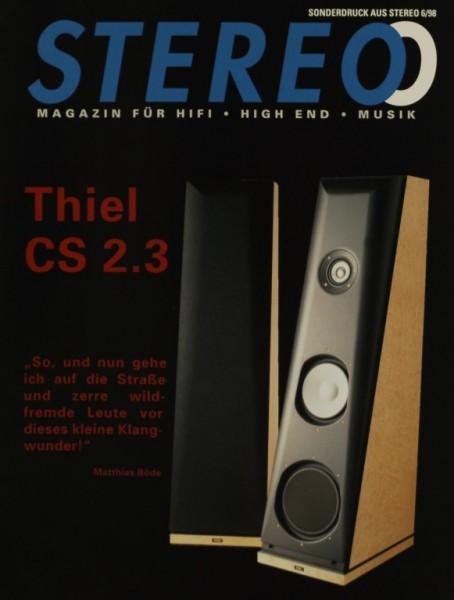 Thiel CS 2.3 Testnachdruck
