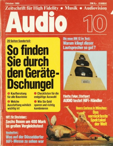 Audio 10/1980 Zeitschrift