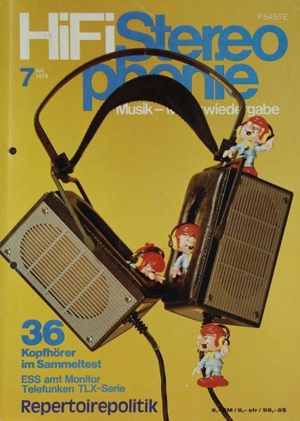 Hifi Stereophonie 7/1979 Zeitschrift