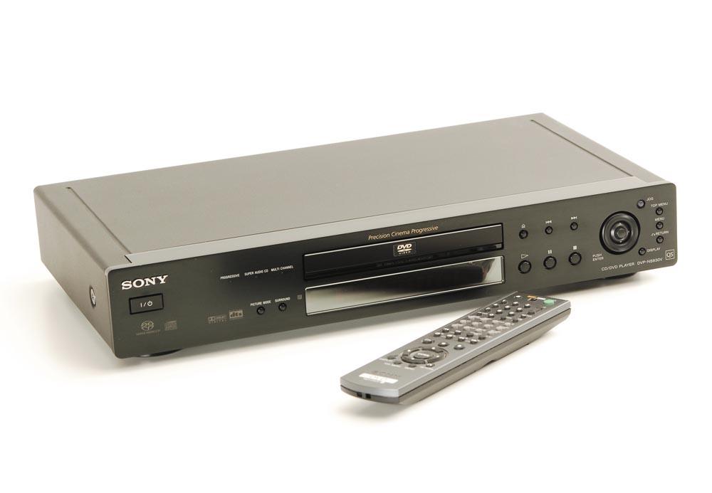 sony dvp ns 930 v sacd ger te und kombiplayer cd. Black Bedroom Furniture Sets. Home Design Ideas