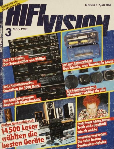 HiFi Vision 3/1988 Zeitschrift