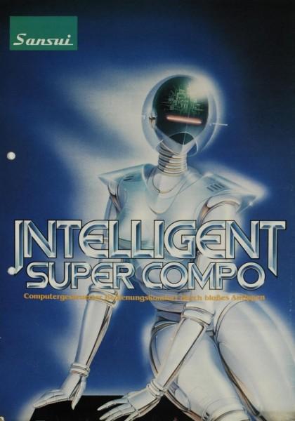 Sansui Intelligent Super Compo Prospekt / Katalog