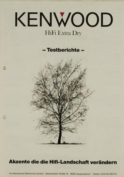 Kenwood HiFi Extra Dry - Testberichte Testnachdruck