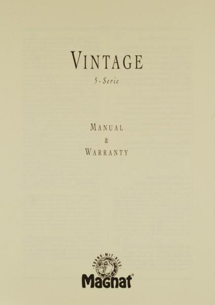 Magnat Vintage 5-Serie Bedienungsanleitung
