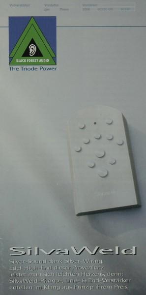Silvaweld Silver-Sound dank Silver-Wiring Prospekt / Katalog