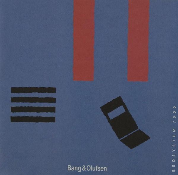 B & O Beosystem 7000 Prospekt / Katalog