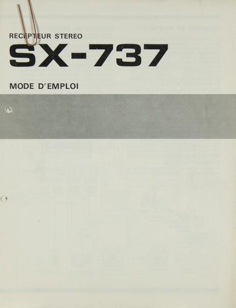 Pioneer SX-737 Bedienungsanleitung