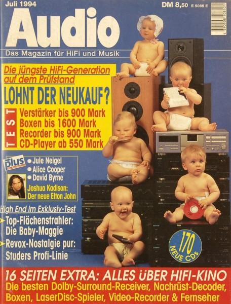 Audio 7/1994 Zeitschrift