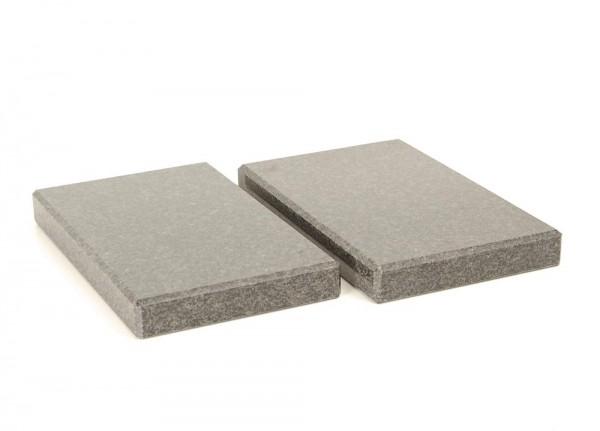 Granitplatten für Lautsprecher und Geräte Paar