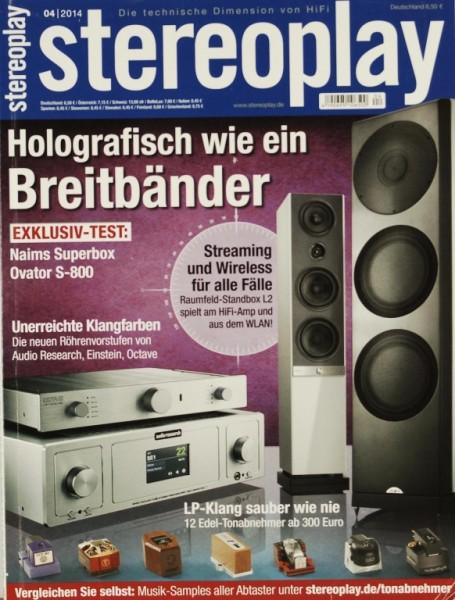 Stereoplay 4/2014 Zeitschrift