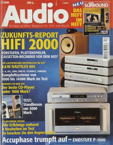 Audio 12/1999 Zeitschrift
