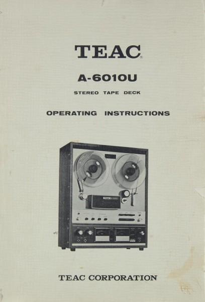 Teac A-6010 U Bedienungsanleitung