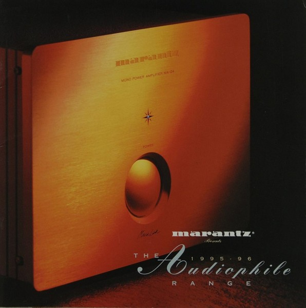 Marantz The Audiophile Range 1995-96 Prospekt / Katalog