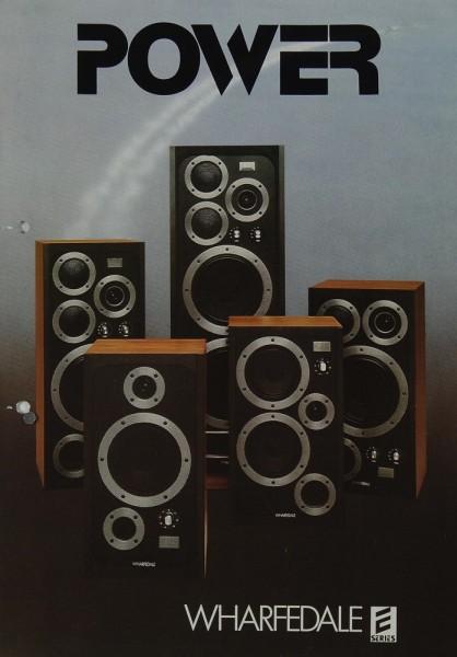 Wharfedale Power - E-Series Prospekt / Katalog