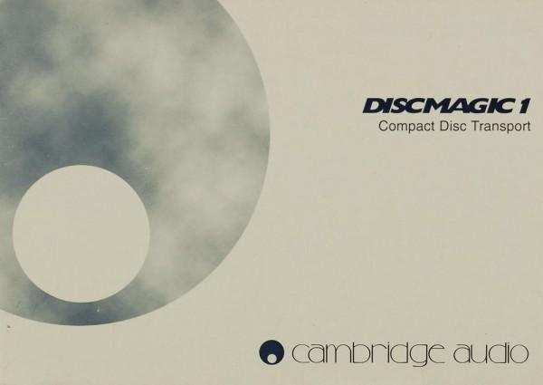 Cambridge Audio Discmagic 1 Bedienungsanleitung