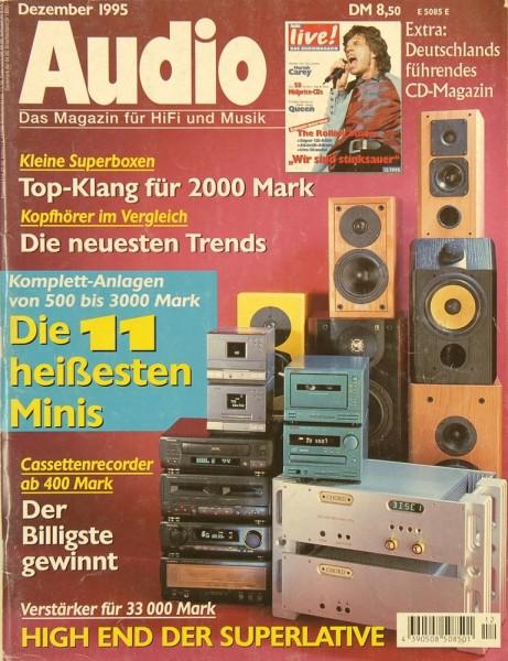 Audio 12/1995 Zeitschrift