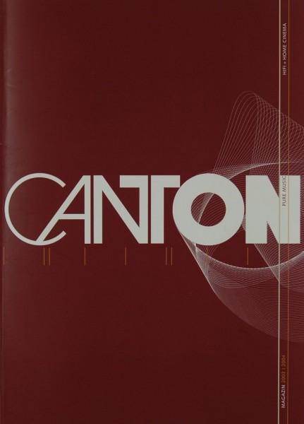 Canton Magazin 2203 / 2004 Prospekt / Katalog