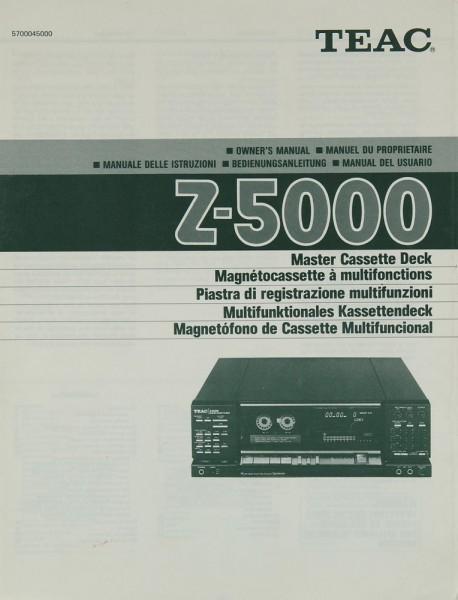 Teac Z-5000 Bedienungsanleitung