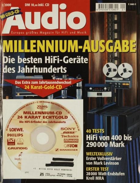 Audio 1/2000 Zeitschrift