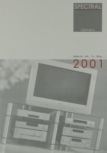 Spectral 2001 Prospekt / Katalog