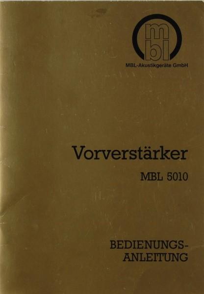 MBL 5010 Bedienungsanleitung