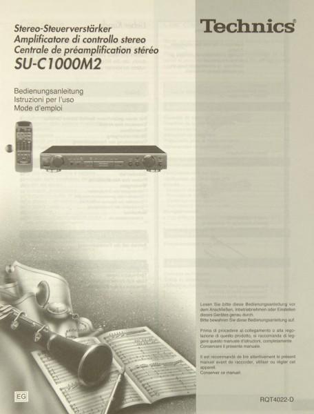 Technics SU-C 1000 M 2 Bedienungsanleitung