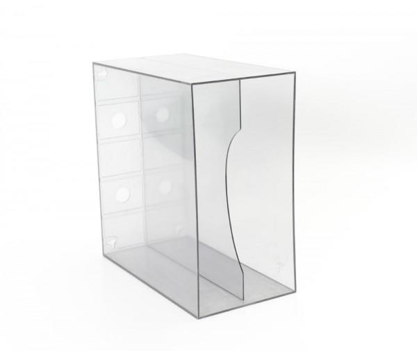 LP-Box rauchglas transparent