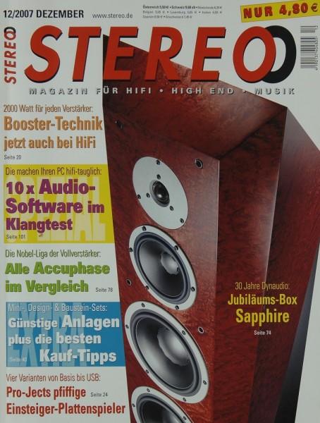 Stereo 12/2007 Zeitschrift
