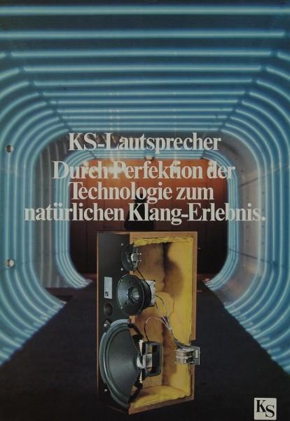 KS Durch Perfektion...zum natürlichen Klangerlebnis Prospekt / Katalog