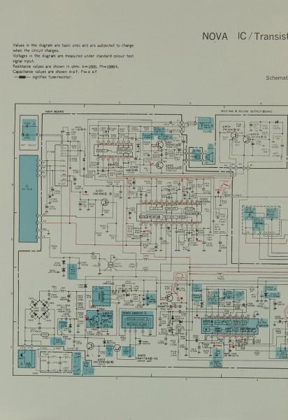 Nova IC Schaltplan / Serviceunterlagen