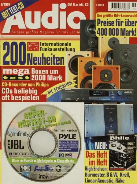 Audio 9/1997 Zeitschrift