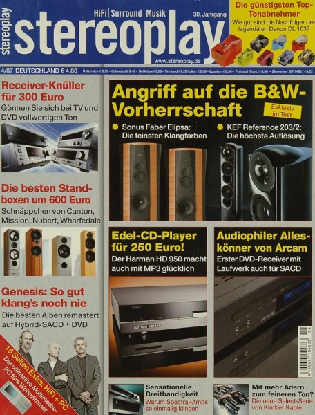 Stereoplay 4/2007 Zeitschrift