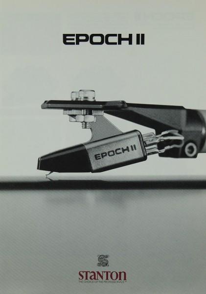 Stanton / Thorens Epoch II Prospekt / Katalog