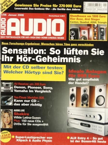 Audio 1/2006 Zeitschrift