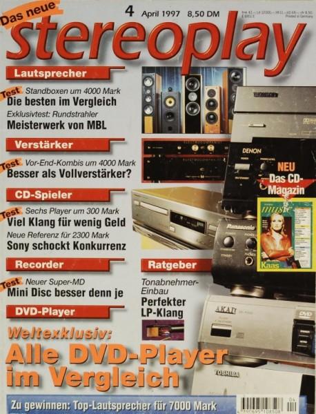 Stereoplay 4/1997 Zeitschrift