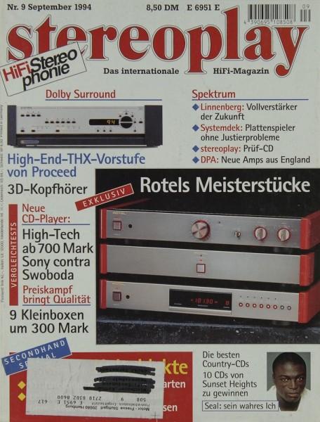 Stereoplay 9/1994 Zeitschrift