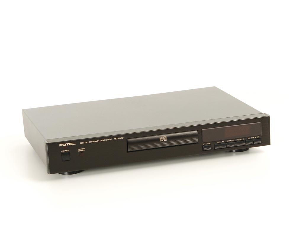 rotel rdd 980 cd laufwerke cd ger te ger te. Black Bedroom Furniture Sets. Home Design Ideas