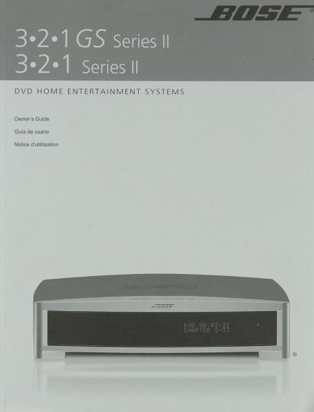 Bose 3.2.1. GS Series II / 3.2.1. Series II Bedienungsanleitung