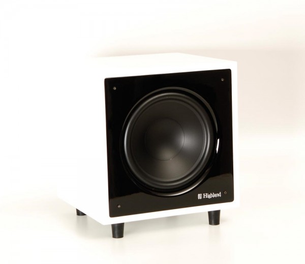 Highland Audio Dilis 440 SW Subwoofer weiß