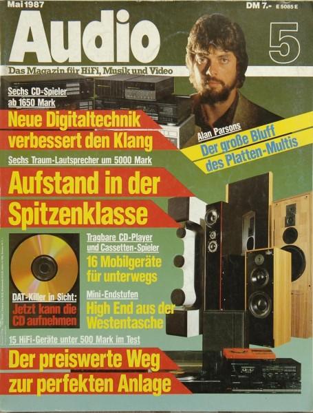 Audio 5/1987 Zeitschrift